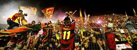 Pure joy for the Sport fans and Carlinhos Bala