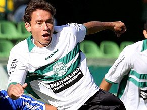 Keirrison - just one of Brazil's gifted youngsters