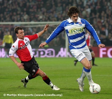 FC Zwolle's Eric Botteghin