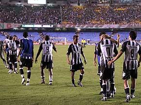 A disconsolate Grêmio in Porto Alegre