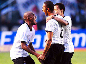 Cristian gives Corinthians a precious lead in the Pacaembu