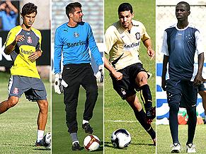 Nilmar, Victor, André Santos and Ramires