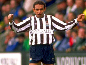 Mirandinha at Newcastle