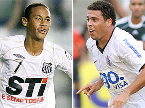 Neymar and Ronaldo: just two of the big stars in this year's Brasileiro