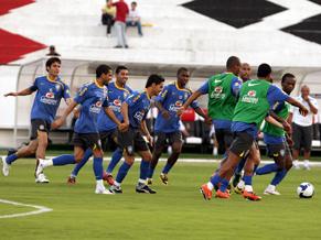 Brazil training in Recife