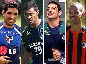 André Dias, Cleiton Xavier, Diego Souza, Diego Tardelli