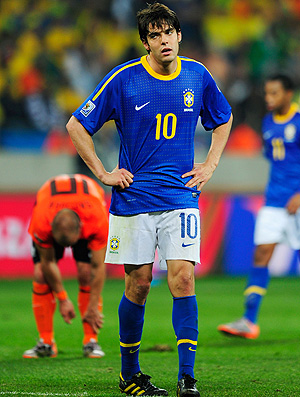 Still no joy for Kaká who has not played for Brazil since the WC final's in South Afroca