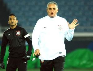 Corinthians Tite alongside Jorge Henrique