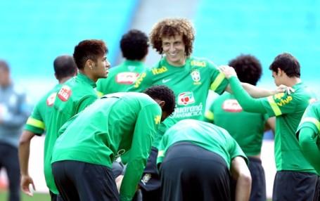 Brazil prepare for the Match against France
