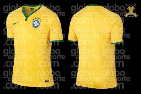 Brazil shirt 2014 World Cup