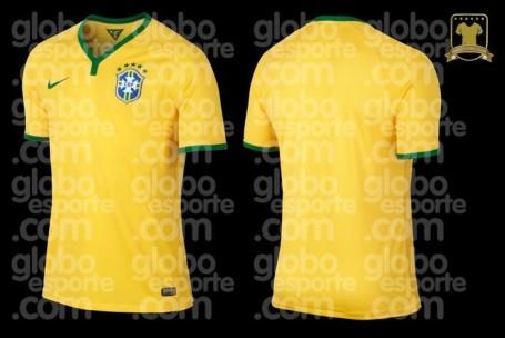 Brazil shirt 2014 World Cup