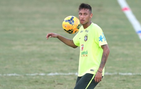Neymar takes the captain's armband