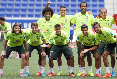 Brazil in a confident mood before the ecuador match