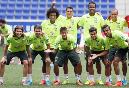 Brazil in a confident mood before the ecuador match