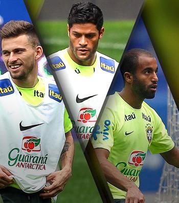 Lucas Lima, Hulk, Lucas Moura